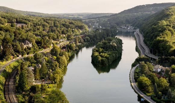 Meuse valley - Lustin